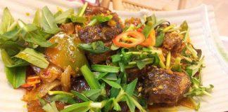 Món ăn ngon từ lươn: Lươn xào sả ớt