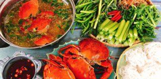 Món ăn ngon cuối tuần: Nấu lẩu cua biển đơn giản mà ngon